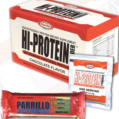 Parrillo Performance Packaging